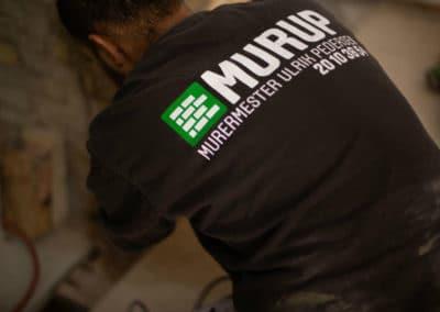Murer medarbejder Murup