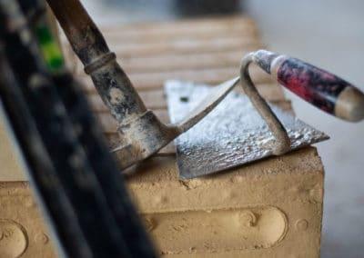 Murerske og hammer