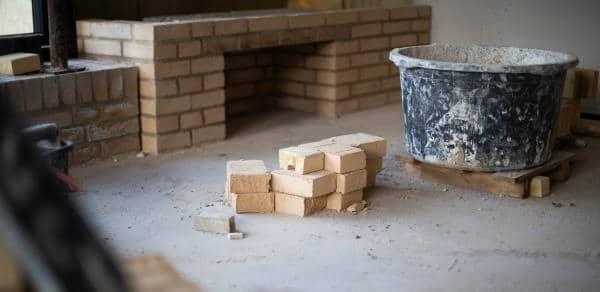 Støbning af sokkel, fundament og gulv